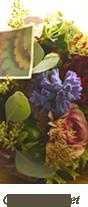 結婚式のメインゲストテーブルの装花