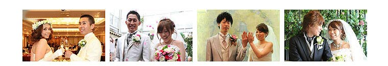 結婚式の挙式当日の時間の流れがわかる結婚式の写真アルバム