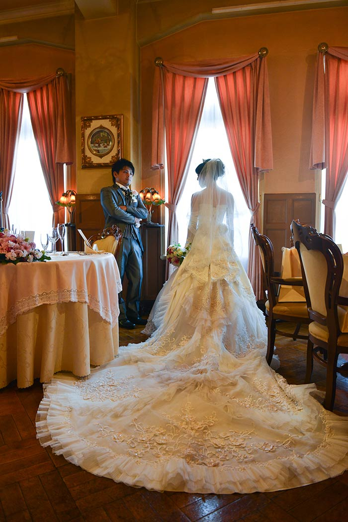 レストラン・アンティカローマで結婚式を挙げました