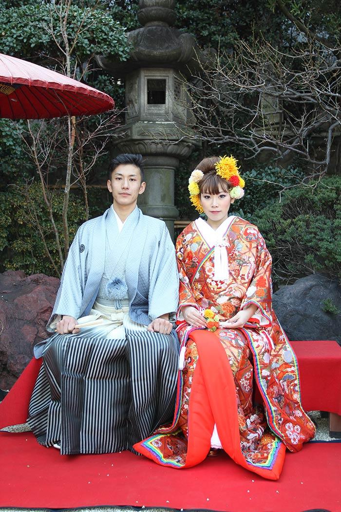 日本庭園が美しい「よし川 新別館」で結婚式を挙げました