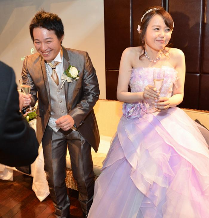 名古屋のイーオリエンタルバンケットで結婚式を挙げました