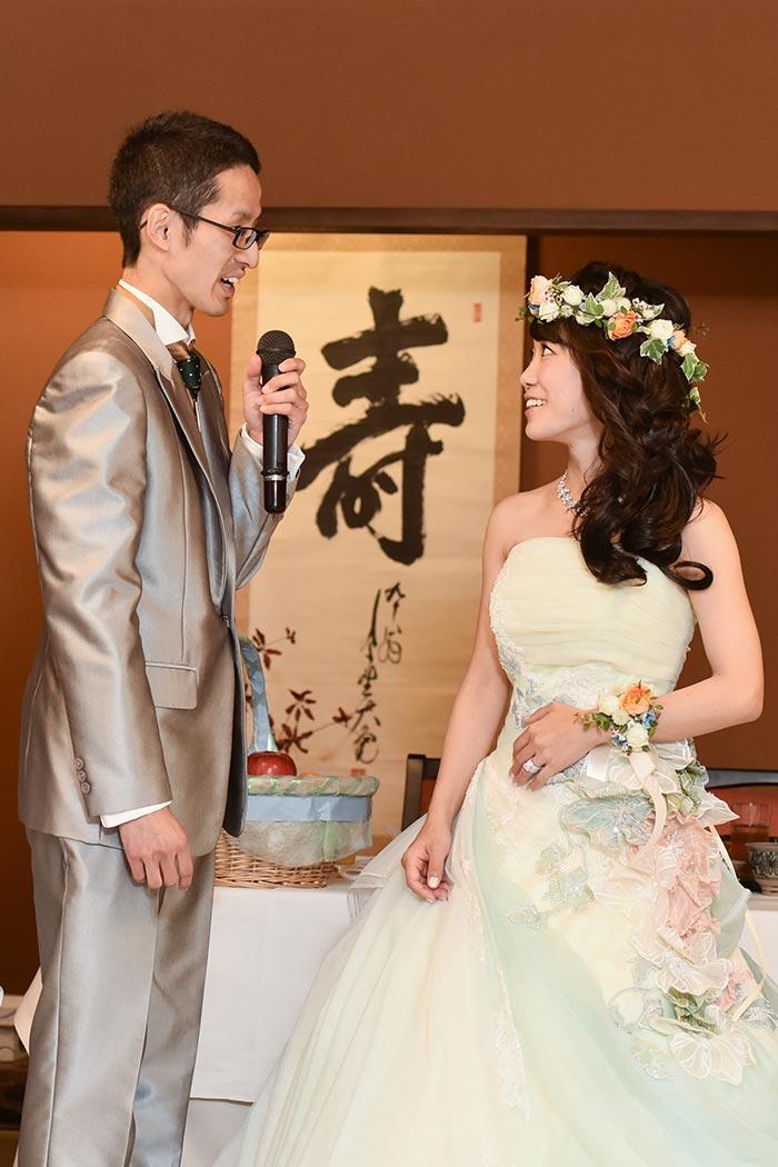 名古屋市の料亭「志ら玉」で結婚式を挙げました