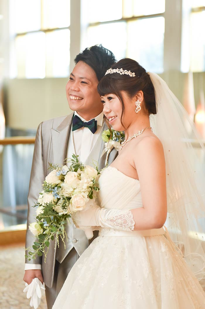 名古屋の高級ホテル「ヒルトン名古屋」の式場105で結婚式を挙げました