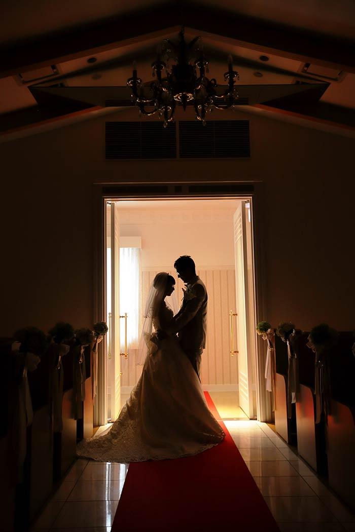 南ヨーロッパ風の建物がオシャレなマリクオーレで結婚式を挙げました