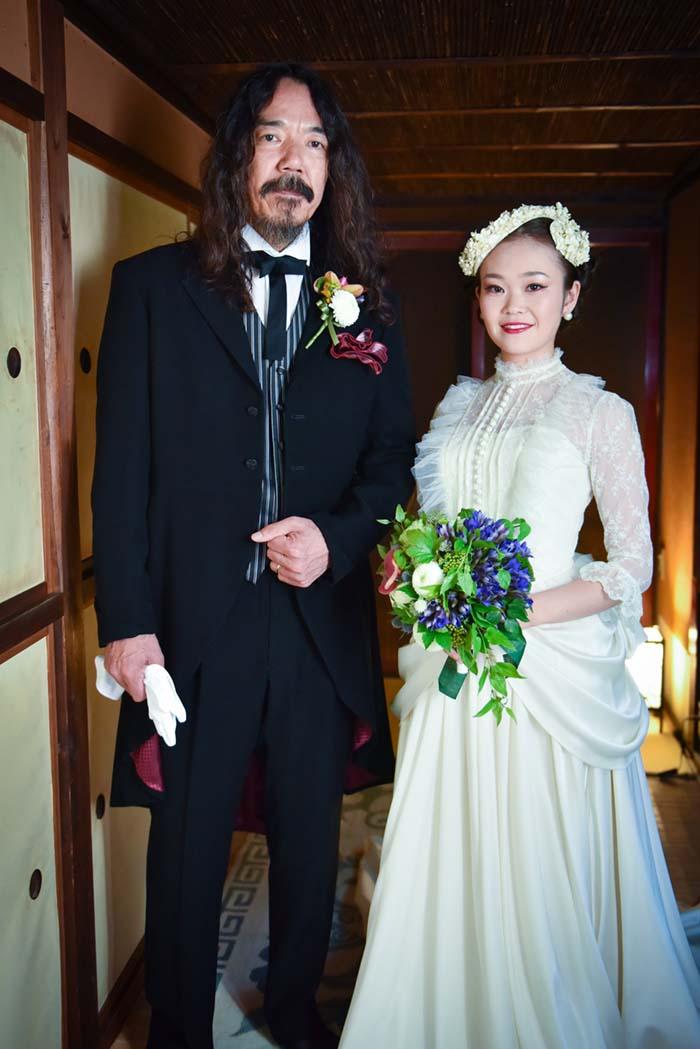 料亭・志ら玉で結婚式を挙げました